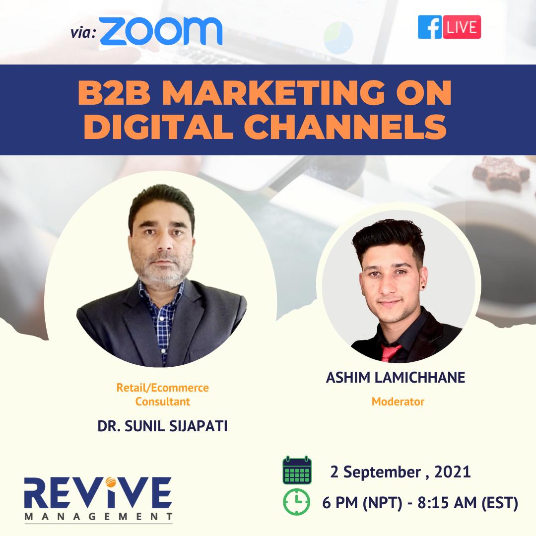 B2B Marketing On Digital Channels